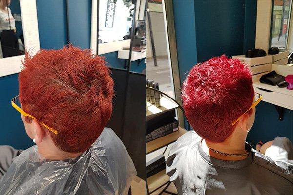Notre galerie de coiffures Avant - Après